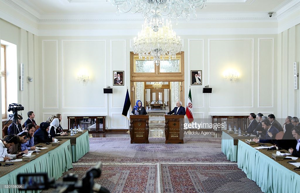 Ministry of Foreign Affairs Tehran, Estonian Minister of Foreign Affairs Kaljurand in Iran Pictures ...