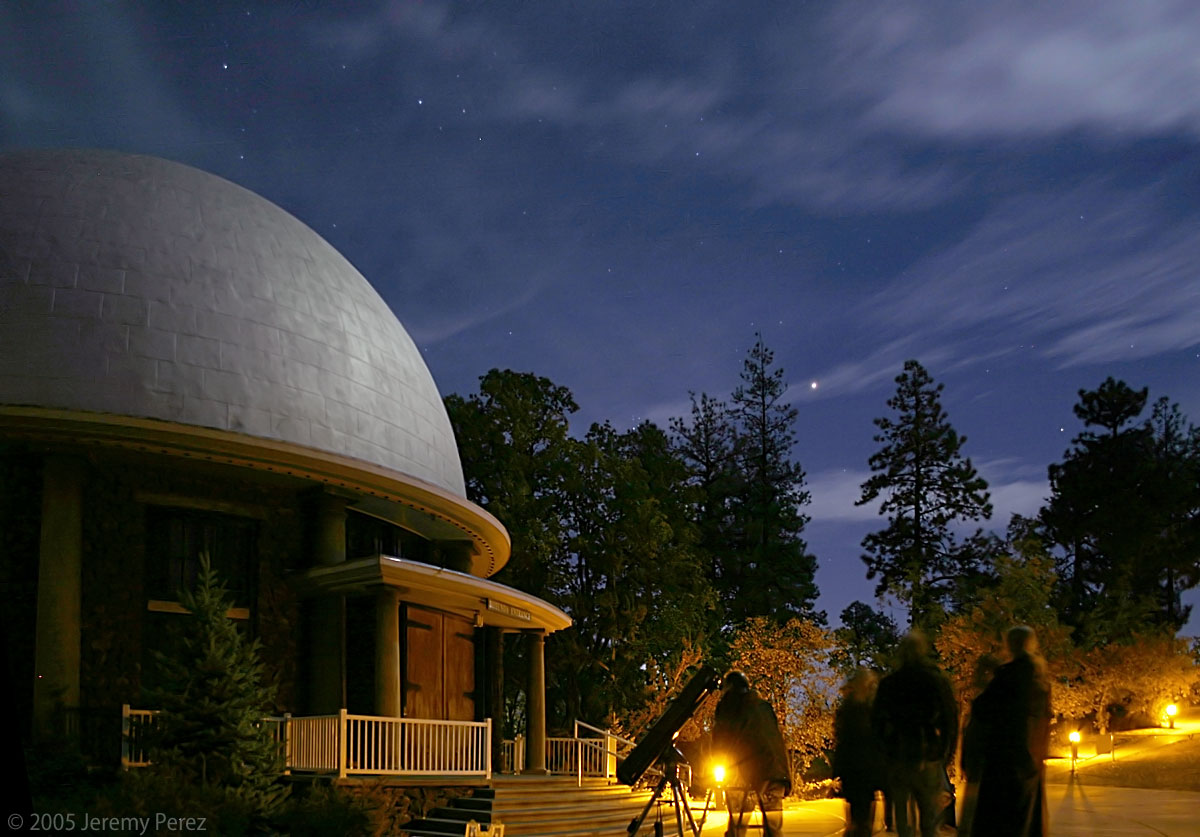 Miracle of America Museum Flathead Lake, Mars Rises over Observers at Lowell Observatory (CAS Galleries)