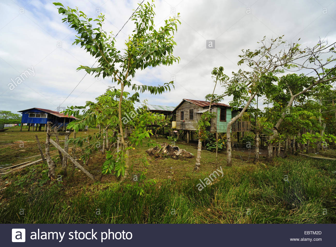 Mistruk La Mosquitia, Indian village with , Honduras, La Mosquitia, Las Marias, Gracias ...