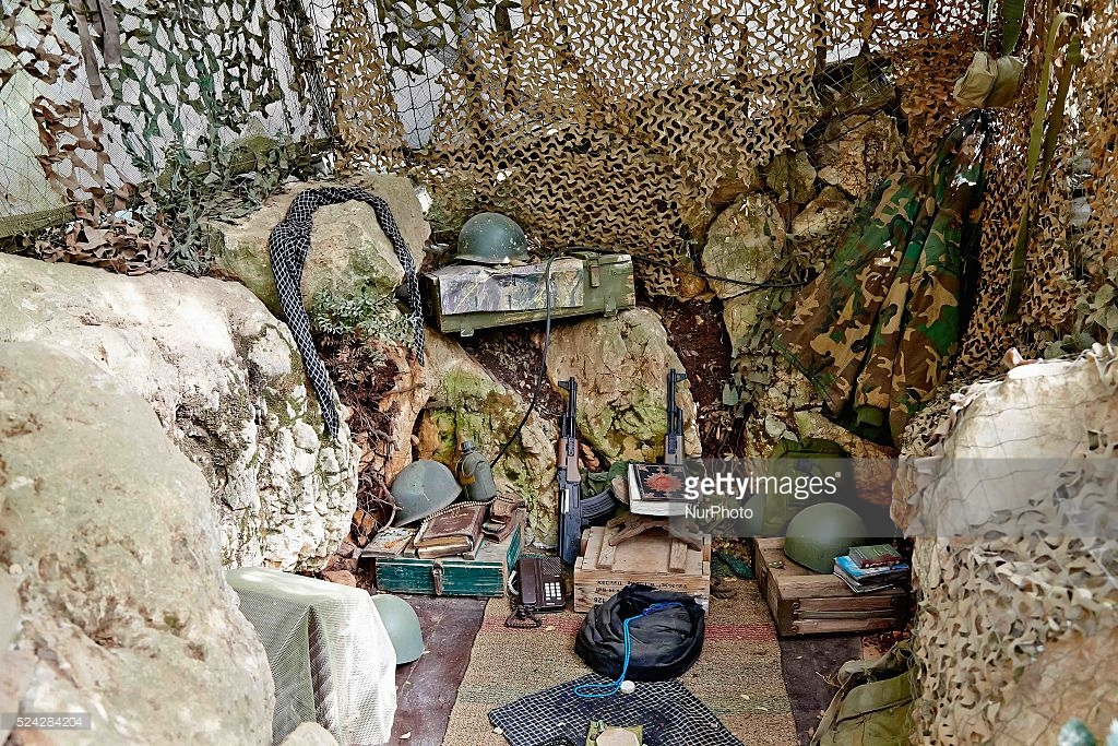 Mleeta Resistance Tourist Landmark South Lebanon, Hezbollah Museum for Resistance Tourism Pictures | Getty Images