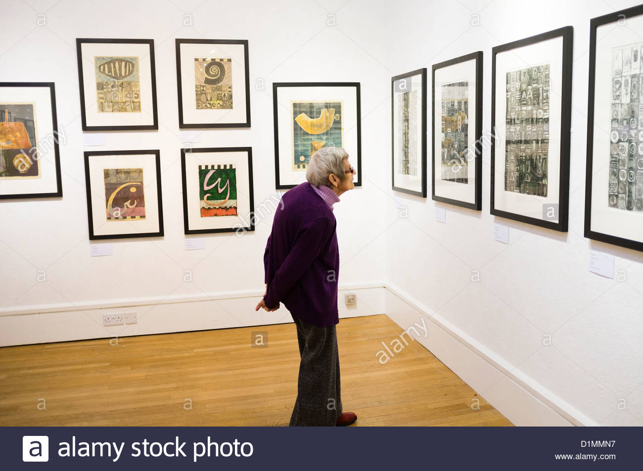 MOMA Wales Mid-Wales, museum of modern art machynlleth powys interior exhibition of ...
