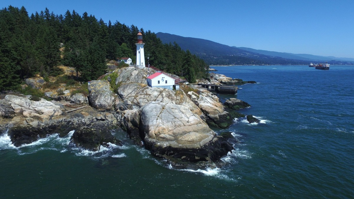 Monte Clark Gallery Vancouver, Lighthouse Park, West Vancouver, British Columbia, Canada ...