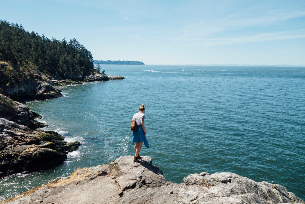 Monte Clark Gallery Vancouver, Lighthouse Park — Voyage Collective