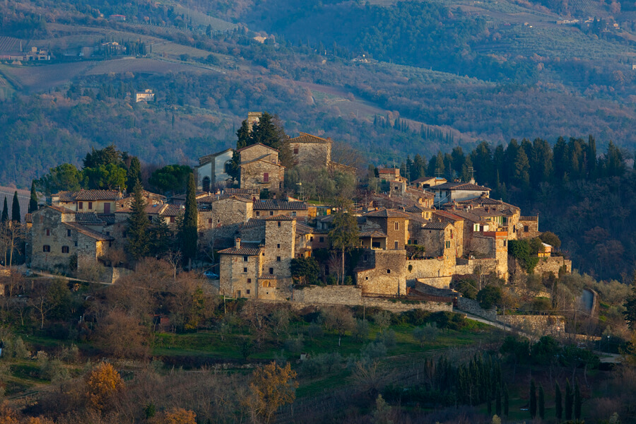 Montefioralle Tuscany, Top 10 Tuscany Villages to visit - My Travel in Tuscany