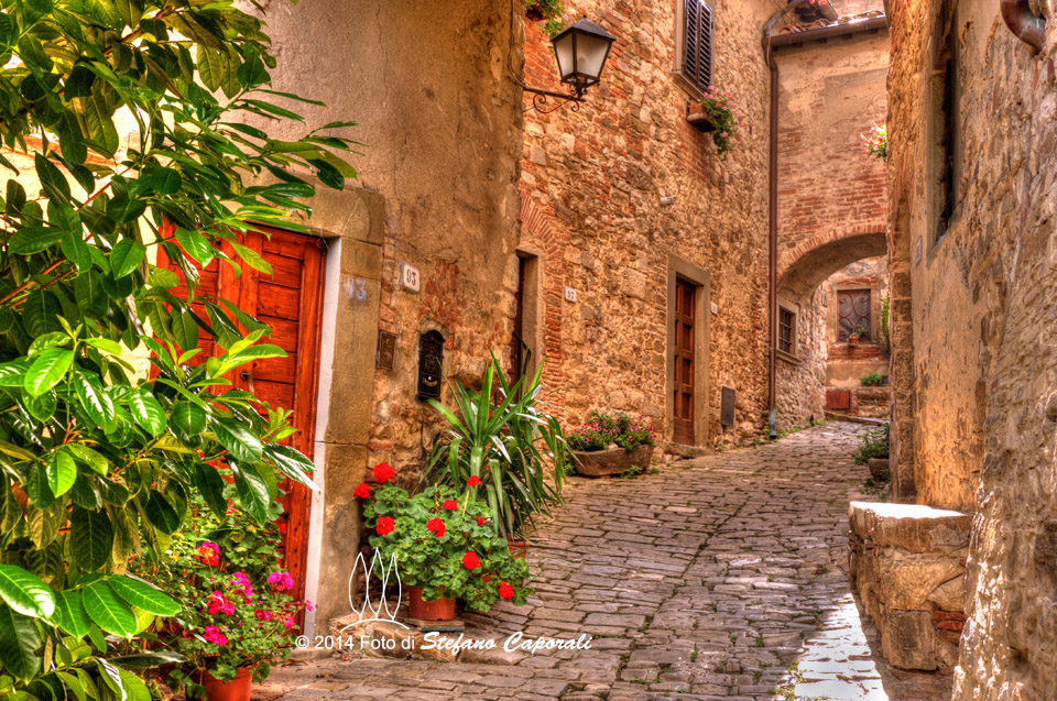 Montefioralle Tuscany, A quaint village in Chianti called Montefioralle