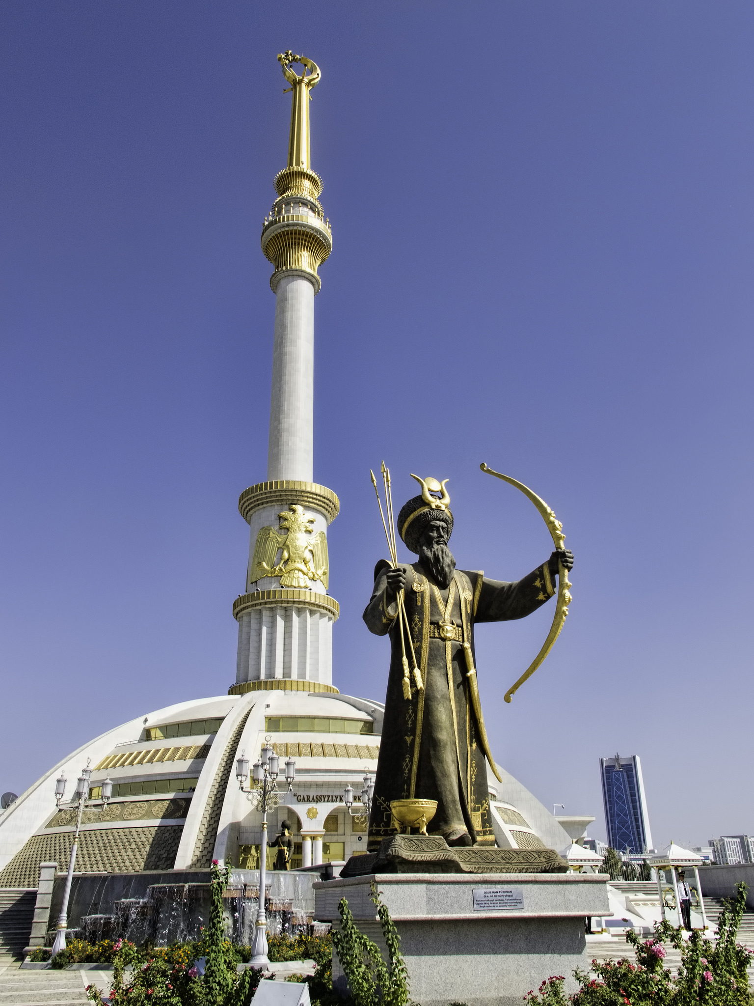 Monument to the Independence of Turkmenistan Ashgabat, 20140924_Turkmenistan_0091 Ashgabat | The bolsheviks, Alien ...