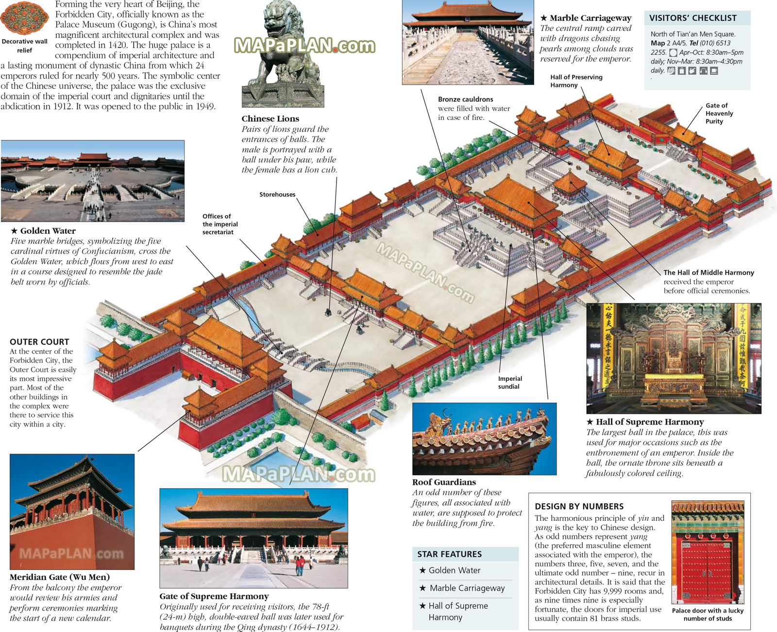 Monument to the People's Heroes Běijīng, Beijing map - Forbidden City old town - Imperial Palace Museum ...