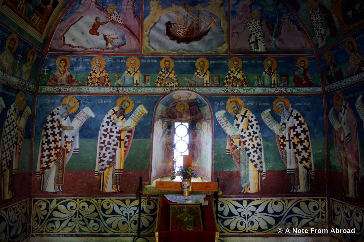 Morača Monastery Northern Montenegro, Picture of the Day ~ Morača Monastery in Montenegro | A Note From ...