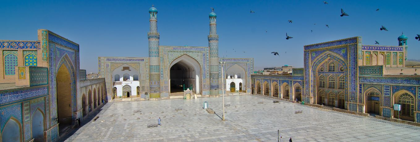 Mosque of the Sacred Cloak Kandahar, Herat Timurid Mosque - Afghanistan | The Best of Islamic ...