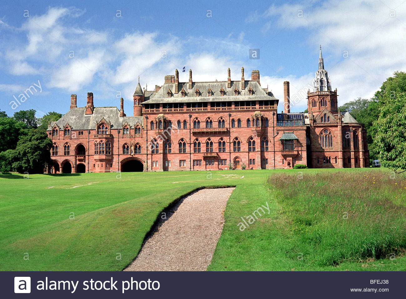 Mount Stuart Bute, mount stuart house isle of bute scotland uk gb Stock Photo ...