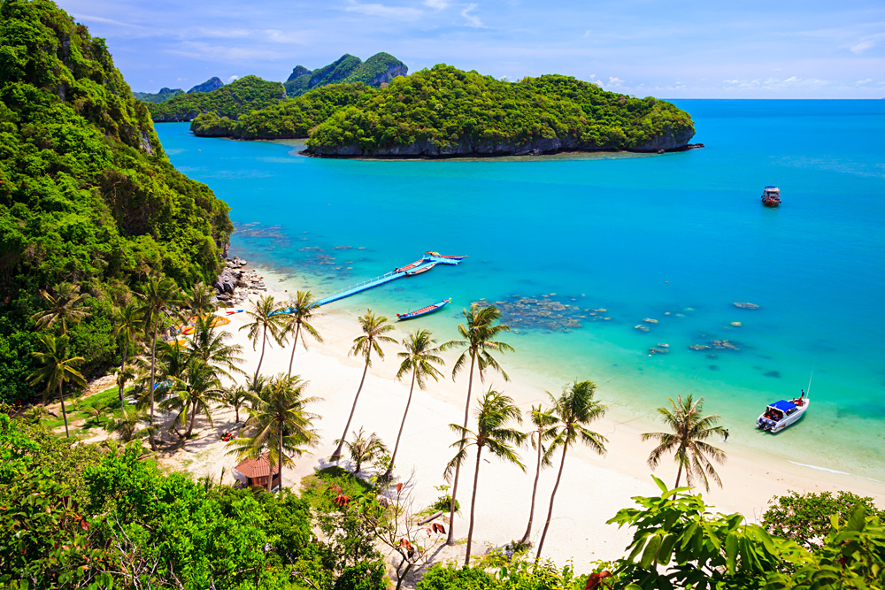 Mu Koh Angthong National Marine Park The Gulf Coast Beaches, Relax in Koh Samui on Your Thailand Vacation | Goway