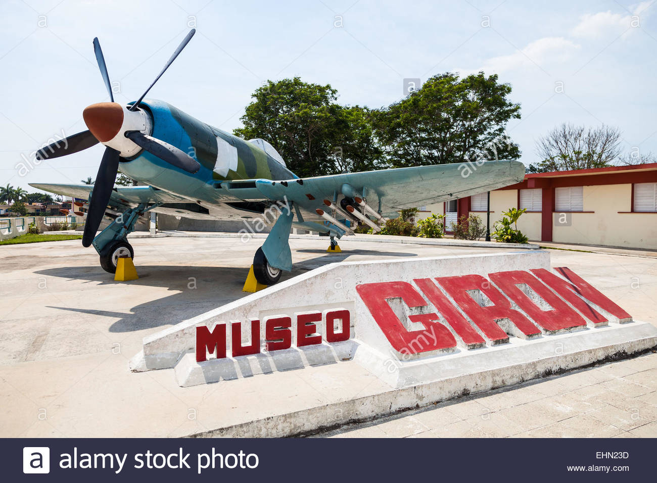 Museo Playa Girón Western Cuba, Museum of Playa Giron, Bay of Pigs, Cuba Stock Photo, Royalty Free ...