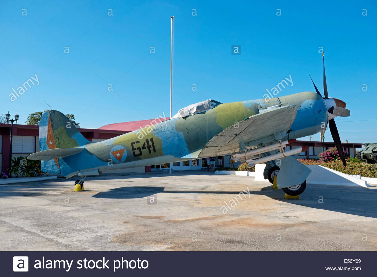 Museo Playa Girón Western Cuba, Hawker Sea Fury FB.11 at the Bay of Pigs Museum, Playa Giron, Cuba ...