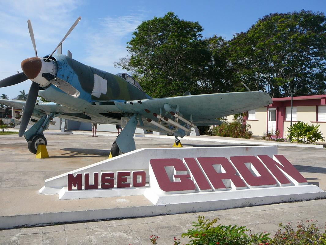 Museo Playa Girón Western Cuba, Aviation monument in Cuba