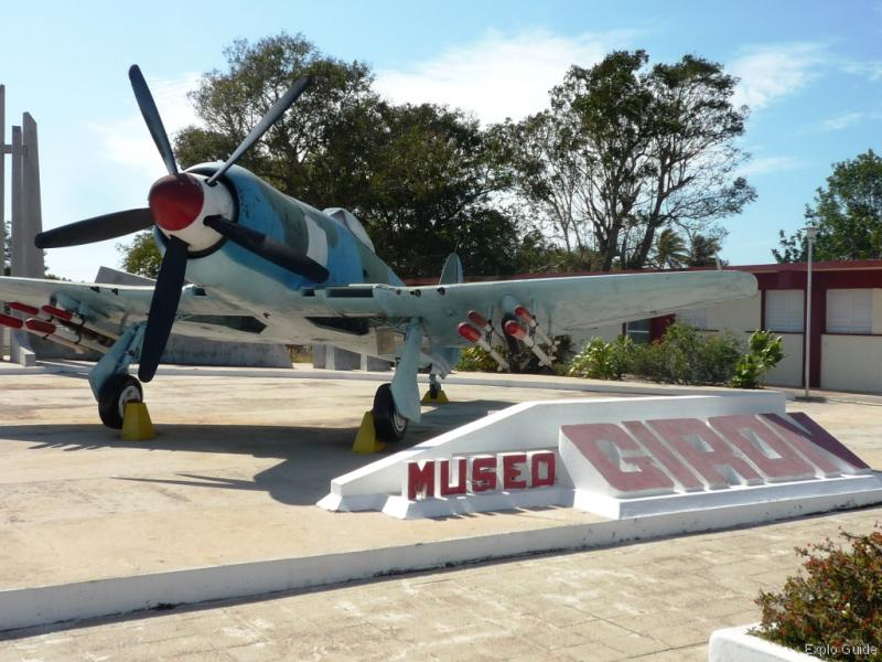 Museo Playa Girón Western Cuba, Museo de Playa Giron, Bay of Pigs war museum | ExploGuide off the ...