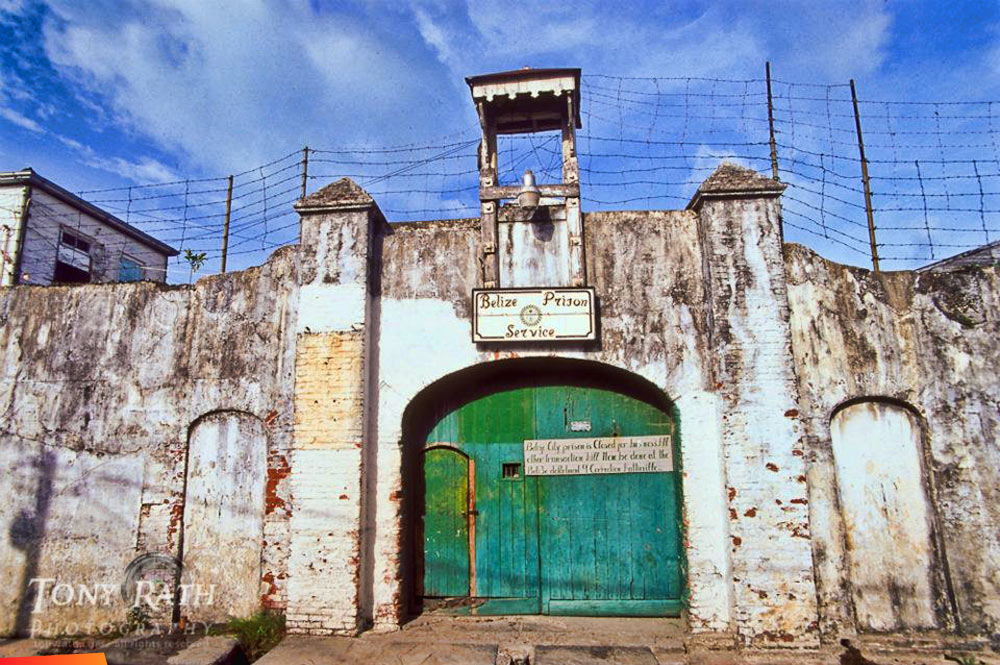 Old Belize Belize City, old prison in Belize City, now the Museum of Belize