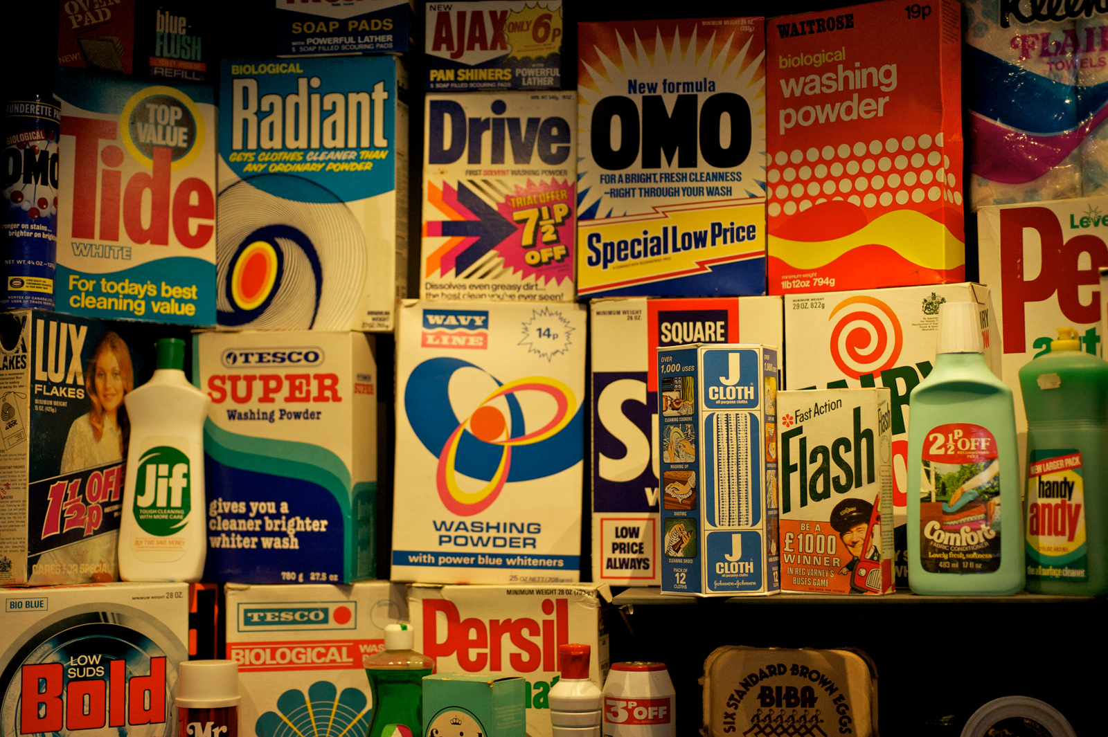 Museum of Brands, Packaging and Advertising London, PACKAGING NOSTALGIA AT THE MUSEUM OF BRANDS - Landa Nanography