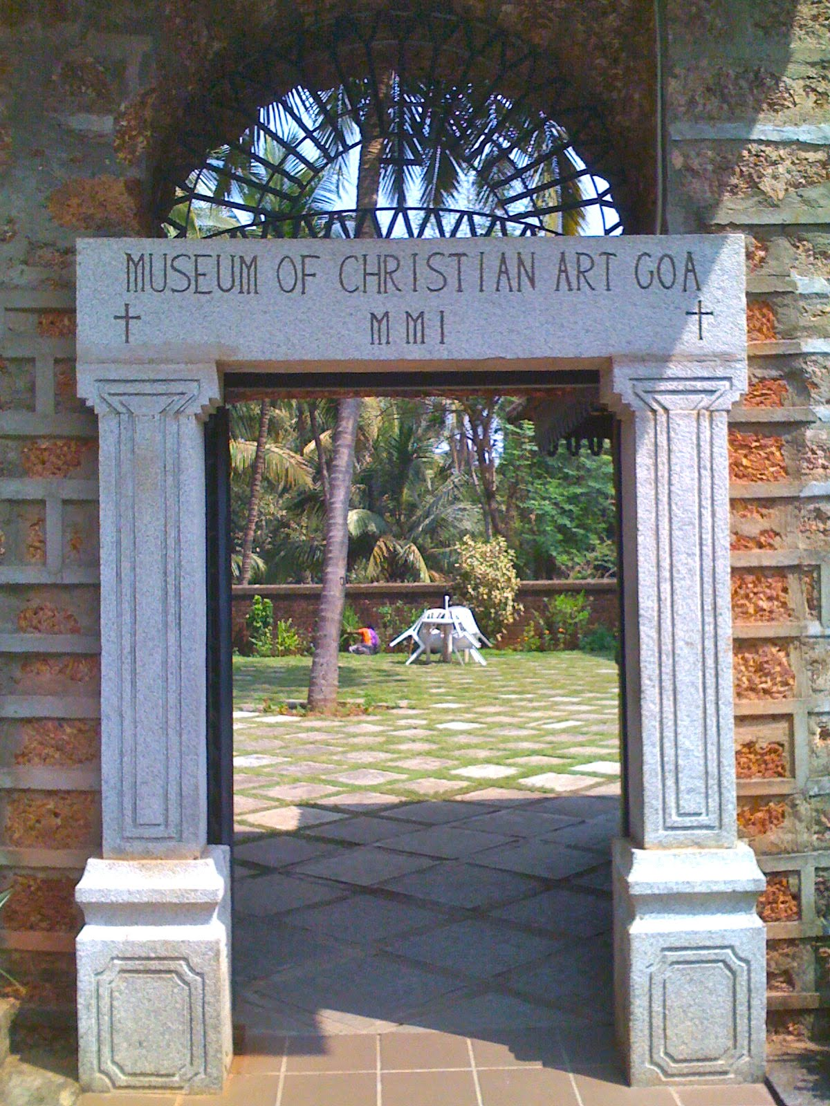 Museum of Christian Art Old Goa, 歡 * Fun: Old Goa * Church and the Convent of St. Monica * Museum ...
