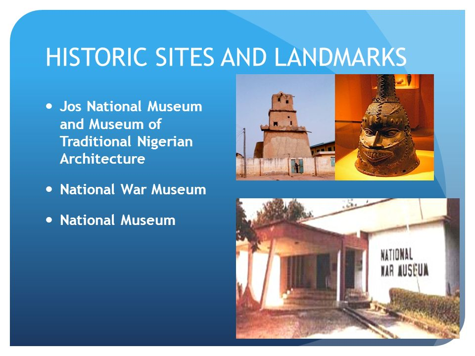 Museum of Traditional Nigerian Architecture Jos, NIGERIA BY PATRICK WALKER. IT'S A MAP! NIGERIA IS BORDERED BY: 1 ...