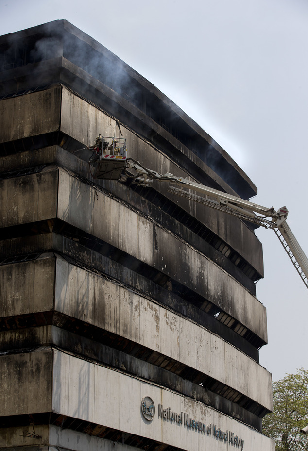 Museum on India's Struggle for Freedom Delhi, Massive fire guts natural history museum in India's capital ...