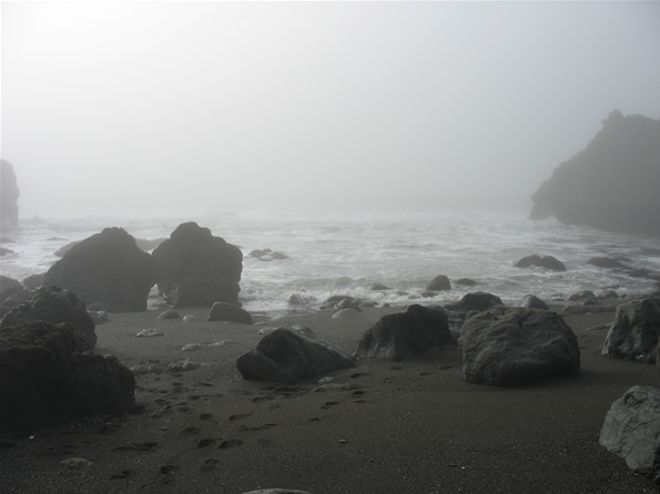 Mussel Rock Park Peninsula, Cutting Donuts from Fog at Mussel Rock « Judging Earth by its Cover
