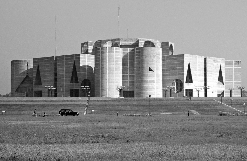 National Assembly Building Dhaka, AD Classics: National Assembly Building of Bangladesh / Louis Kahn ...