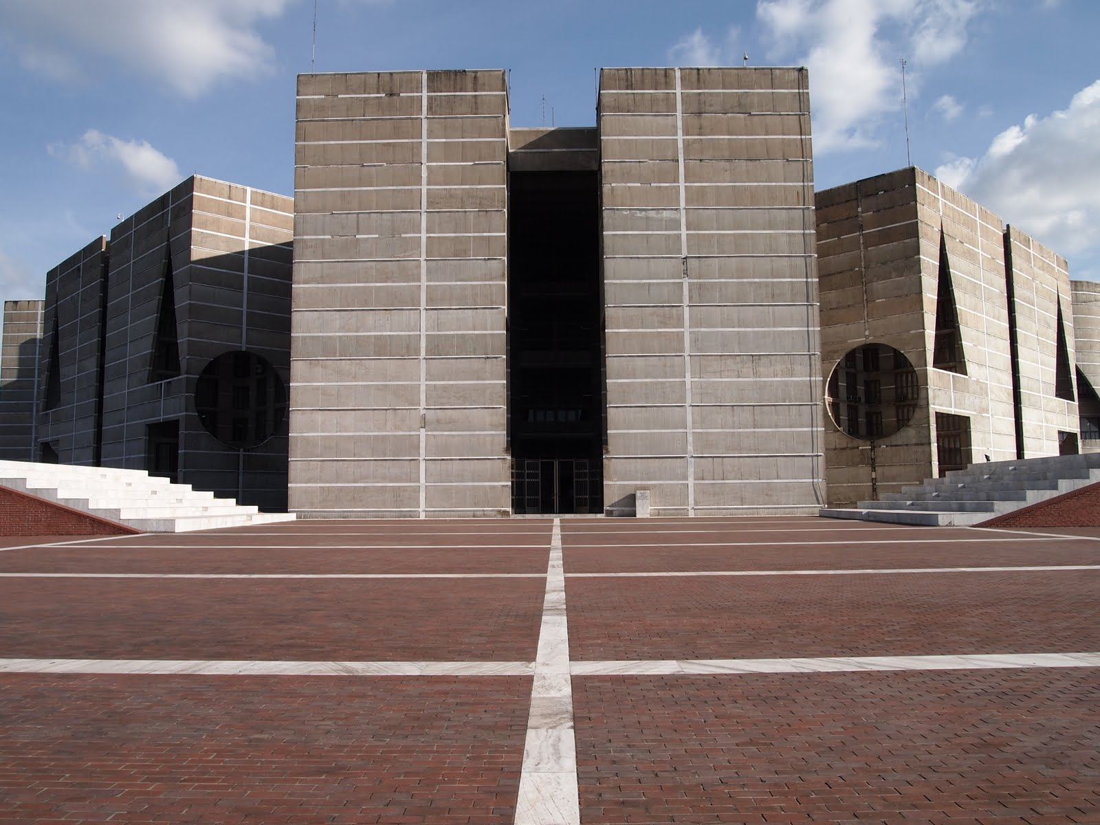 National Assembly Building Dhaka, Tulsi Crafts: National Assembly building Dhaka by Louis Kahn