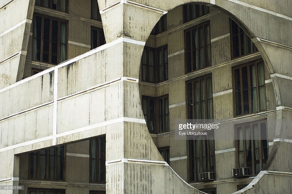National Assembly Building Dhaka, National Assembly building using innovative concrete and geometric ...