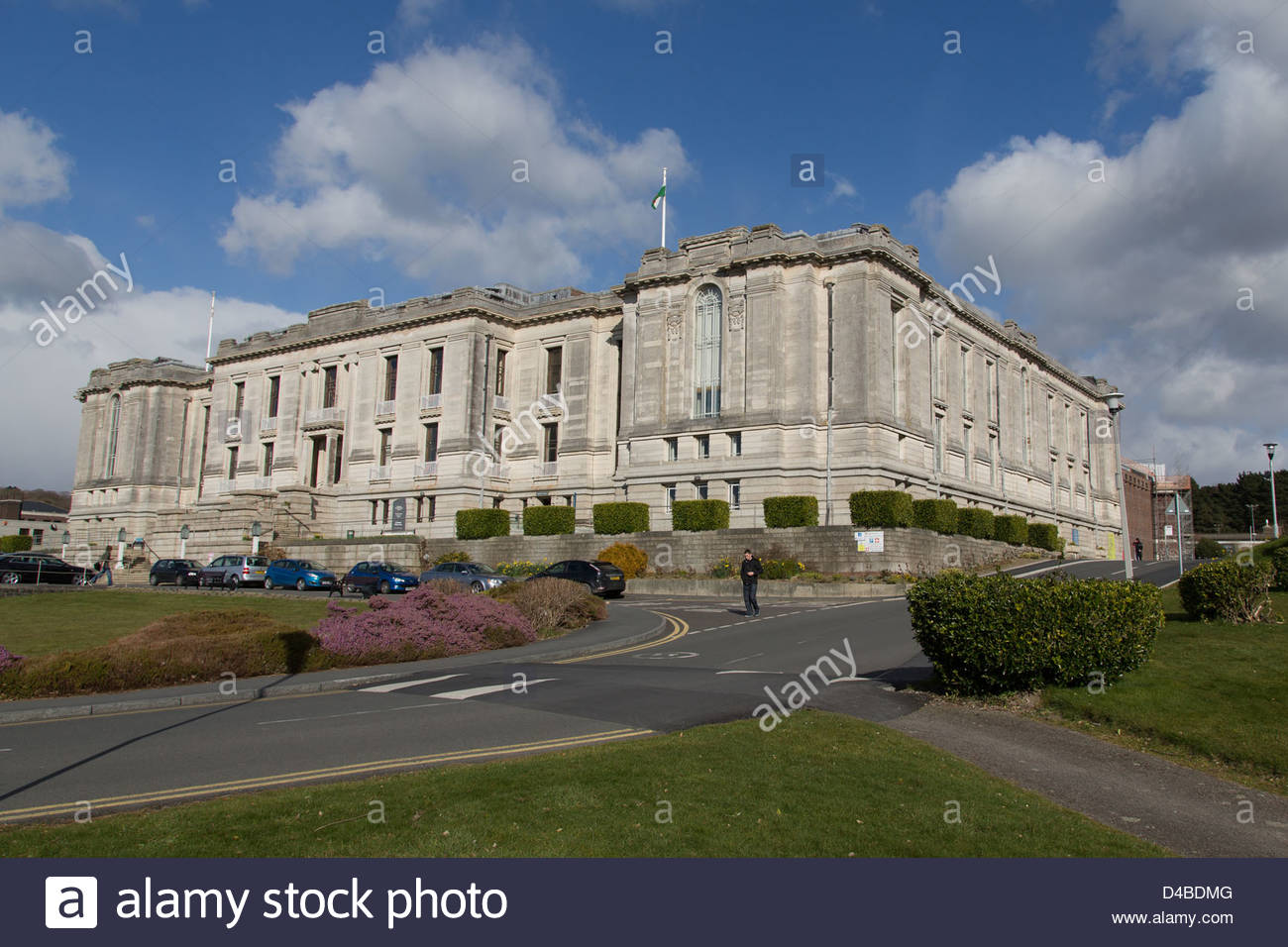 National Library of Wales Aberystwyth, National Library of Wales, Aberystwyth Stock Photo, Royalty Free ...