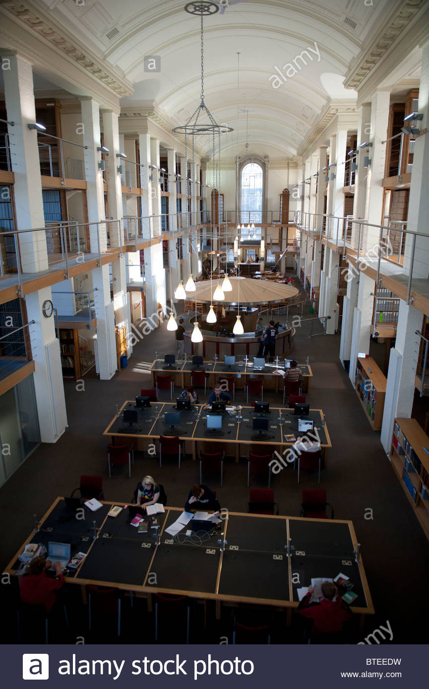 National Library of Wales Aberystwyth, The refurbished North Reading Room at the National Library of ...