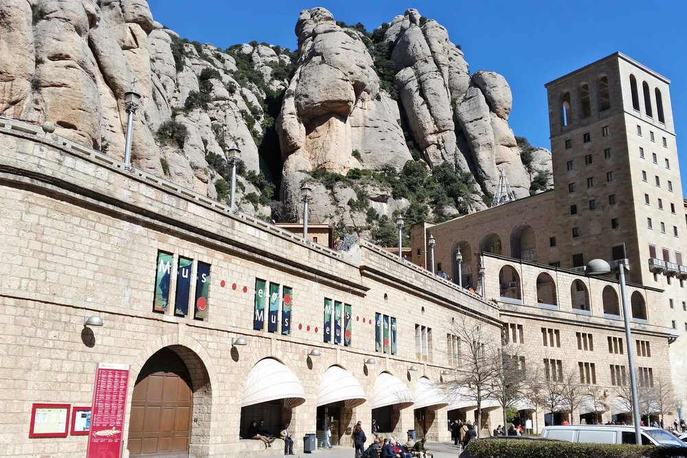 National Museum of Montserrat Americas, Train Day Trip from Barcelona to Montserrat Mountains — CHARACTER 32