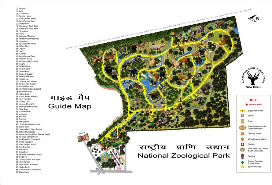 National Zoological Park Delhi, Welcome to national zoological park