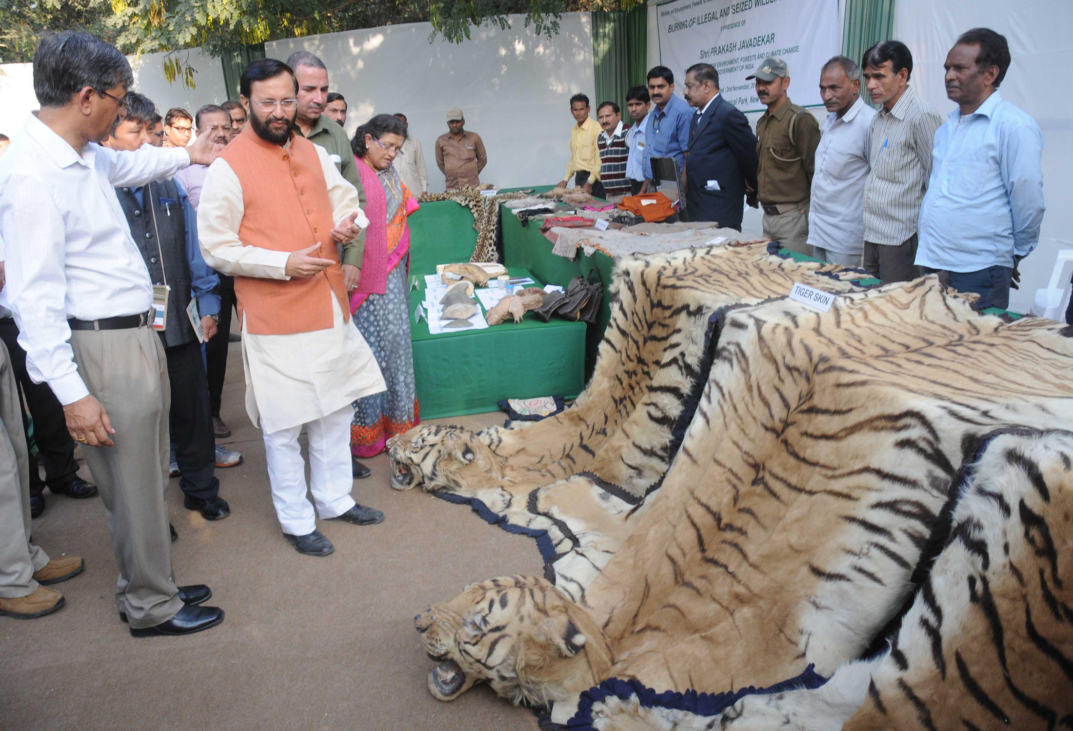 National Zoological Park Delhi, Delhi News Agency (DNA) – Illegal Wildlife Products incinerated at ...
