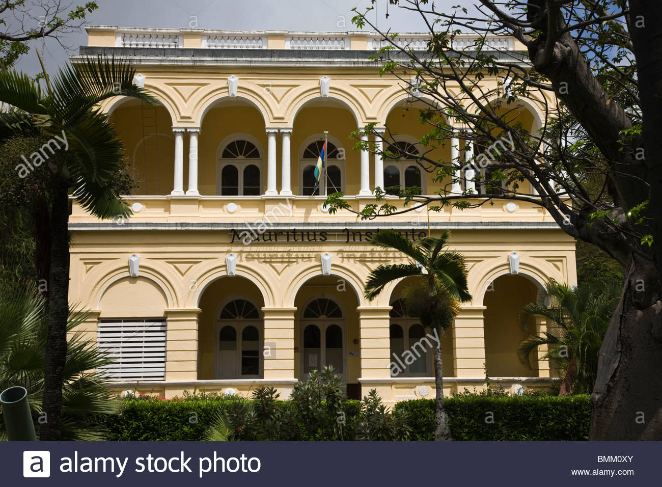 Natural History Museum & Mauritius Institute Port Louis, Mauritius, Port Louis, Mauritius Institue Building at the Natural ...