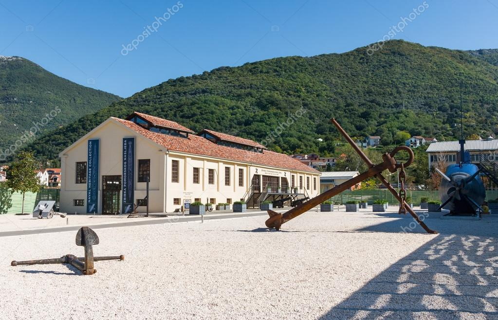 Naval Heritage Collection Tivat, Naval Heritage Collection Museum. Tivat city, Montenegro – Stock ...