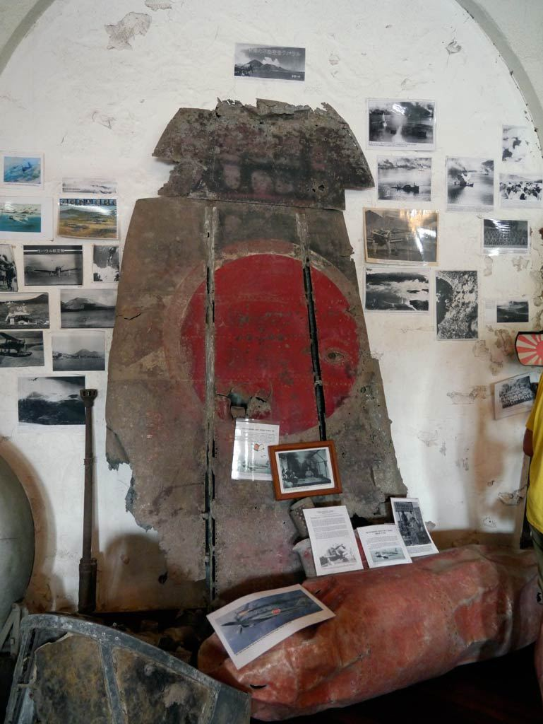 New Guinea Club & Rabaul Museum Rabaul, Seventy Years Later, Relics of South Pacific Fighting Still ...