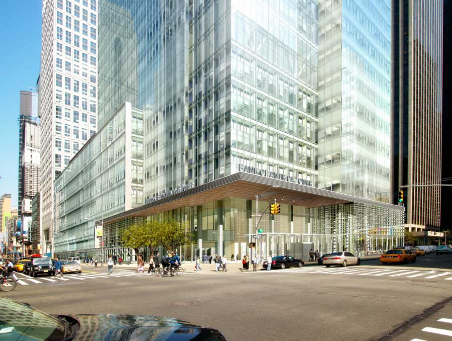 New Museum New York City, One Bryant Park New York, Bank of America Tower - e-architect