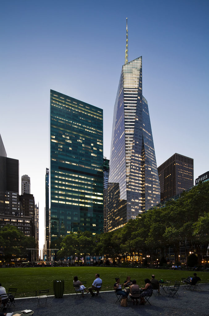 New Museum New York City, Designing a NYC Icon: One Bryant Park / Bank of America Tower ...