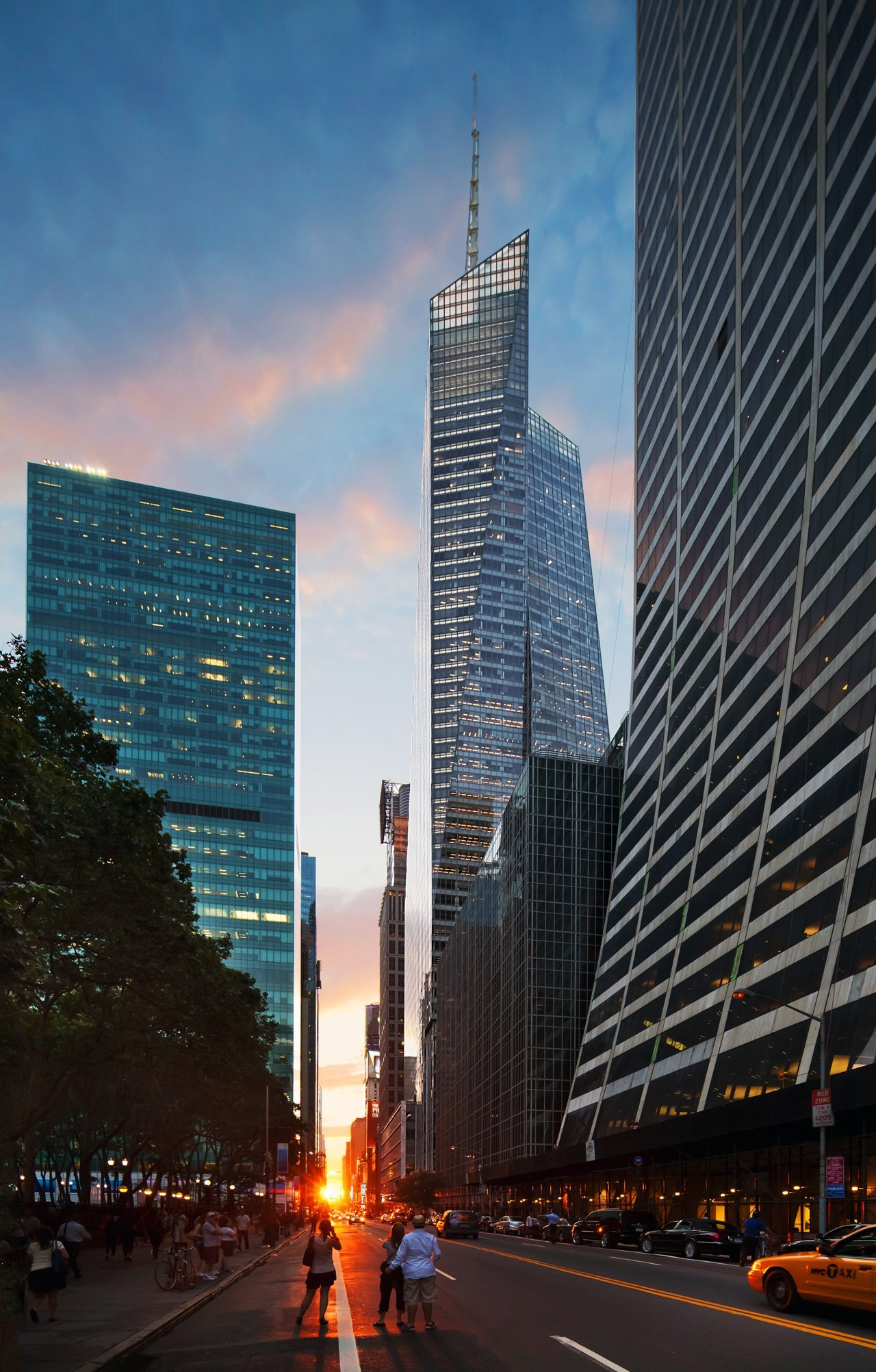 New Museum New York City, Bank of America Tower at One Bryant Park / Cook + Fox Architects ...