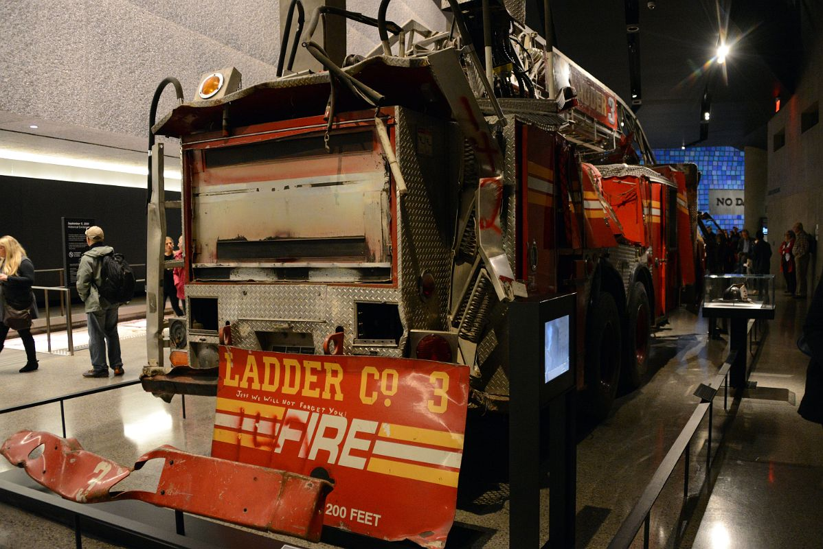New York Stock Exchange (NYSE) New York City, 26E New York City Fire Department Ladder Company 3 Truck In The ...