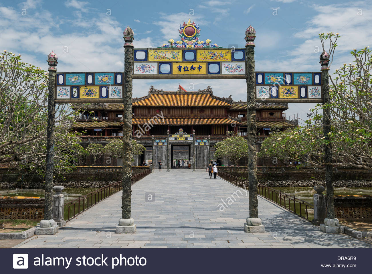 Ngo Mon Gate Hue, The Main Citadel Gate Ngo Mon otherwise known as The Gate of Noon ...