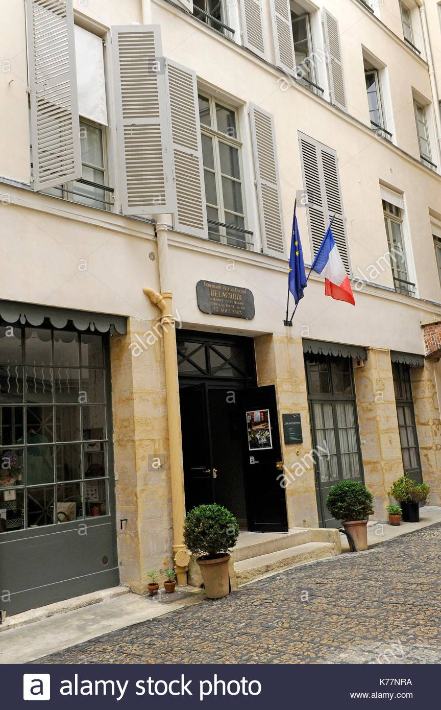 Nicolas Flamel's Home Paris, Musee National Eugene Delacroix Stock Photos & Musee National ...