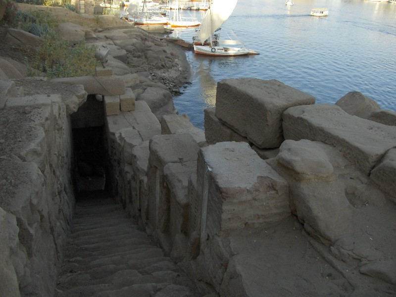 Nilometer of Khnum Aswan, Aswan: Gateway to Nubia (Part 4) | thegreatbelzoni
