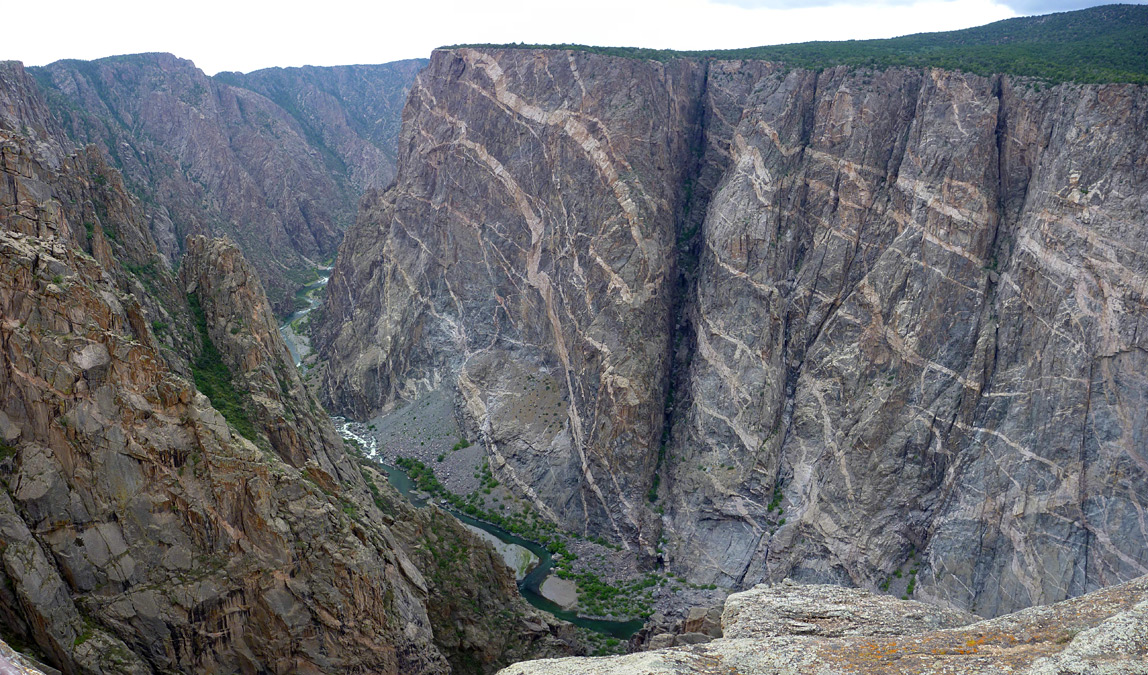 Canyons of the Ancients National Monument Southwest Colorado, Painted Wall View: Black Canyon of the Gunnison National Park ...
