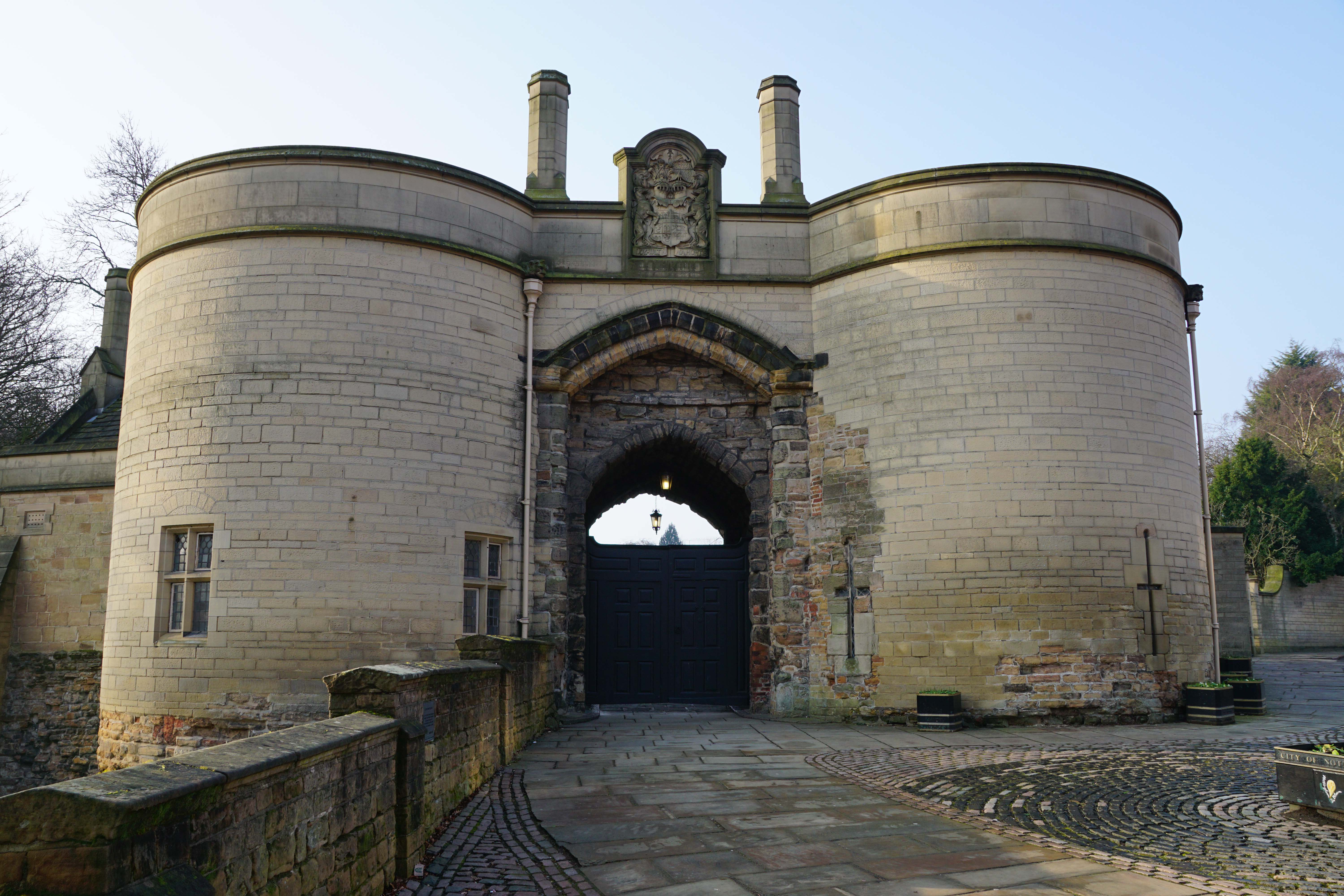 Nottingham Castle Nottingham, Nottingham Castle | Midlands | Castles, Forts and Battles