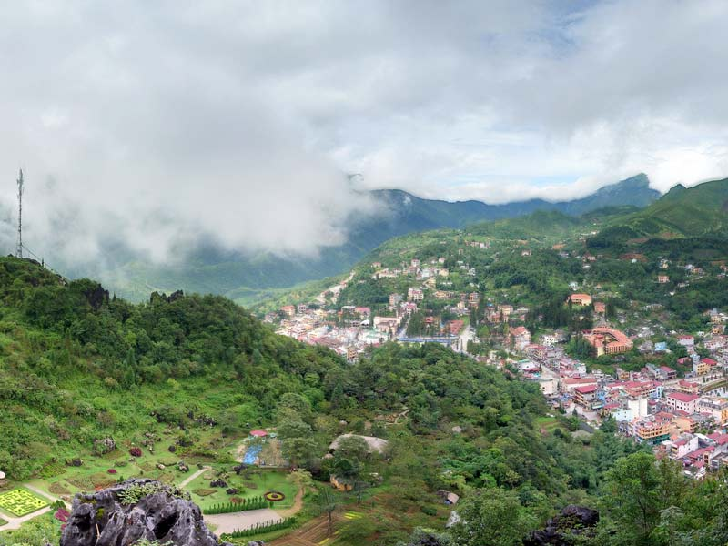 Nui Hoang Lien Nature Reserve The Northwest, Attractions in Sapa - In Se Asia