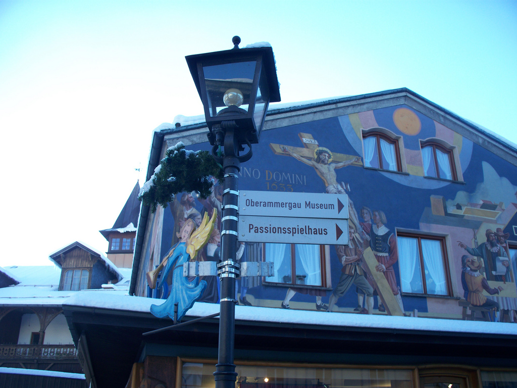 Oberammergau Passionsspielhaus The Bavarian Alps, The World's Best Photos of mural and oberammergau - Flickr Hive Mind