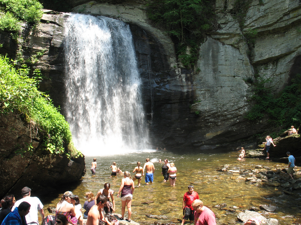 Oconaluftee Indian Village The North Carolina Mountains, Loved the waterfalls of the western Carolinas, including this ...