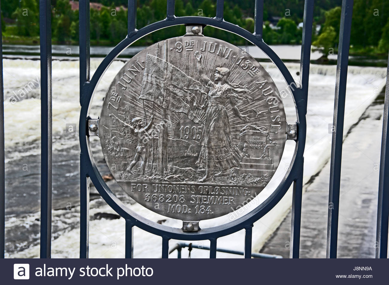Olympic Park Lillehammer, Replica Mint Coin, From Royal Mint Silver Mine, On Bridge over ...