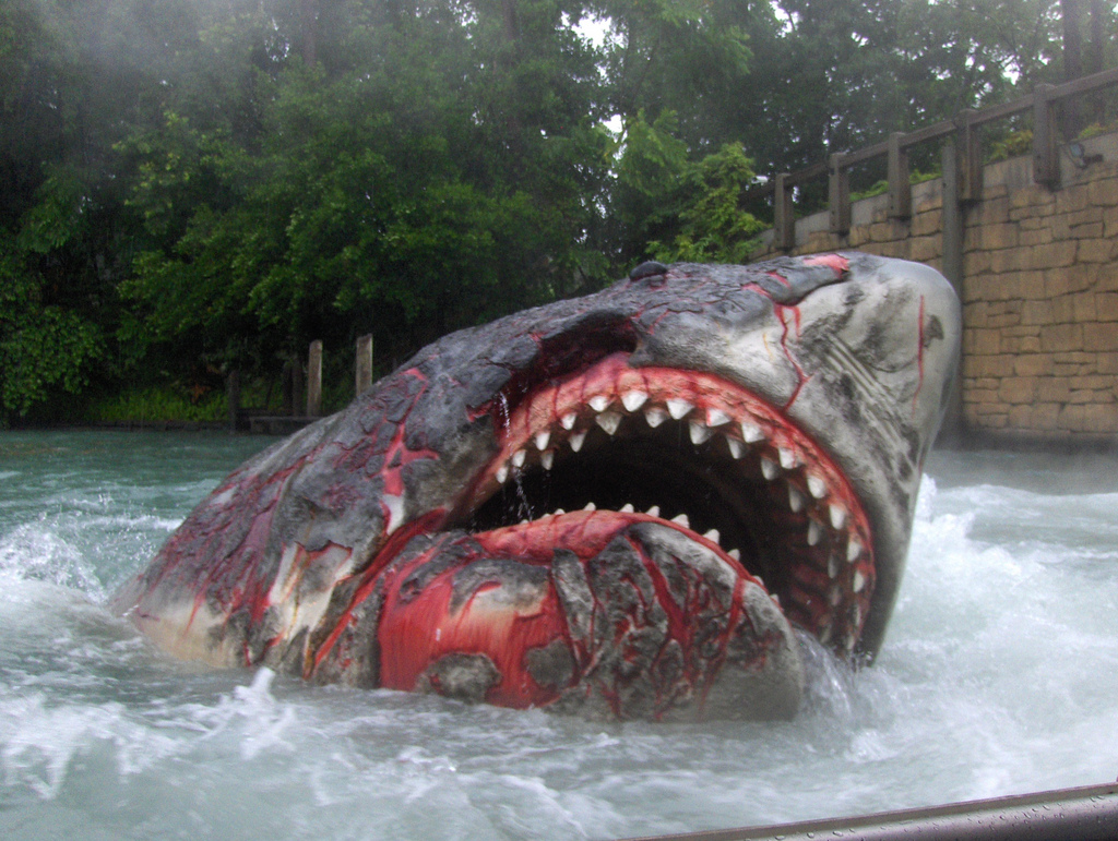 One Fish, Two Fish, Red Fish, Blue Fish Universal Orlando, Jaws! Universal Studios, Orlando | Natalie Sage | Flickr